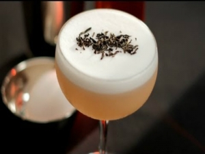 Montelobos Smoked Tea Sour Cocktail
