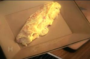 Ham and Gruyere Omelet