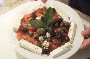 Tomato Salad With A Twist