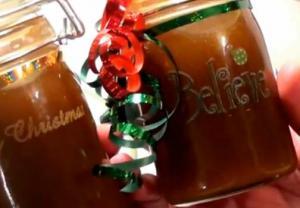 Christmas Caramel Sauce