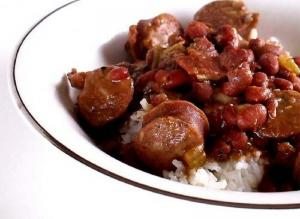 Sausage and Black Bean Stew