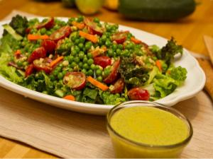 Cilantro, Lime and Tahini Salad Dressing