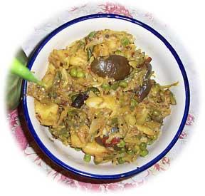 Vegetable Sabzi