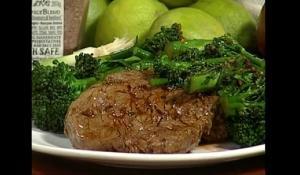Honey Garlic Crimson Love Steak & Organic Broccolette