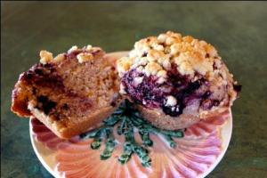 Berry Layer Muffins