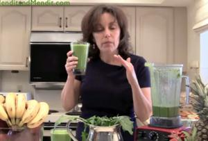 Citrus and Dandelion Anti Aging Vegan Blended Smoothie