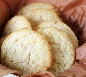 Orange Refrigerator Cookies
