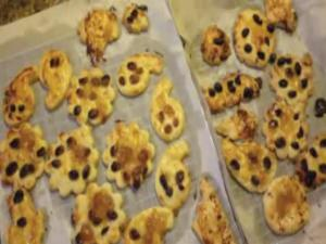 Fruity Pie Crust Cookies