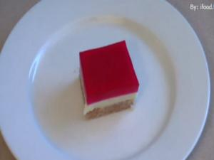 Homemade Christmas Jelly Slice