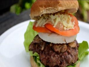 Mushroom & Habanero Cheese Burger