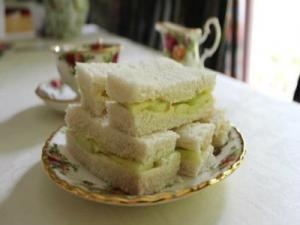 Cucumber Sandwiches with Cliveden House