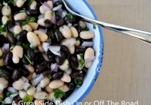Canned Black and White Bean Salad