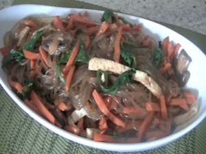 Japchae: Korean Stir Fry