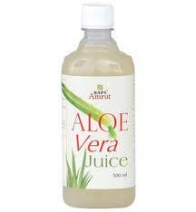Aloe vera juice for skin
