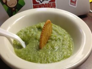 Broccoli Potato Soup Vegan Style