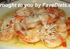 Low Carb Shrimp Scampi
