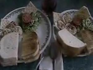 Classic Deviled Egg Sandwich & Savory Vegetarian Cake