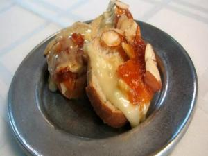Lynn's Baked Camembert with Apricot Glaze