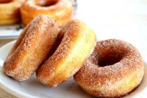 Quick Raised Doughnuts
