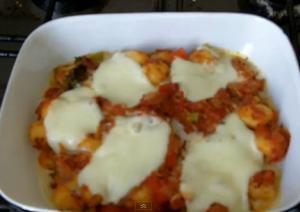 Easy Tomato Gnocchi