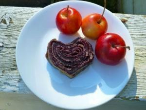 Cherry Crepe Rolls (Gluten Free) - Valentine's Recipes Collaboration - Part 2