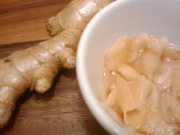 Pickled ginger health benefits  for one and all.