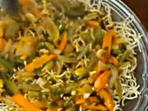 Indo Chinese Cuisine - Vegetarian American Chopsuey