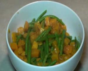 Sherried Squash and Beans