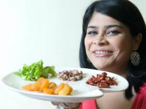 Enjoy the healthy vegetarian cooking experience