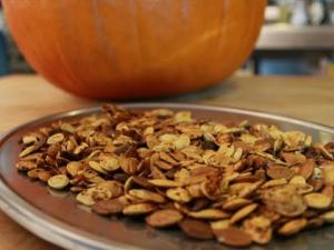 Dicksta's Dishes: Pumpkin Seeds