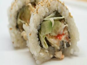 How to Make Sushi - Cucumber Crab Rolls