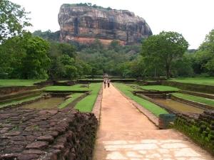 Sigiriya -( The Lion Mountain) Sri Lanka.