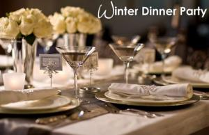 Winter dinner menu