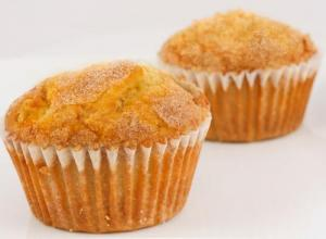 Honey Peach Butter Muffins
