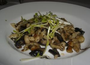Gnocchi with Wild Mushroom Sauce