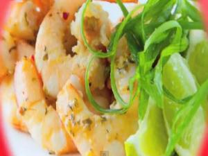 Thai Grilled Prawns