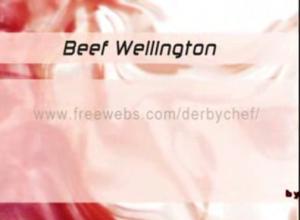 Beef Wellington With Mushrooms