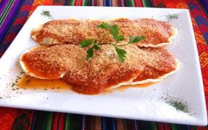 Tomato Sauce With Ricotta And Herbs