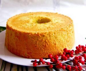 Tangerine Chiffon Cake