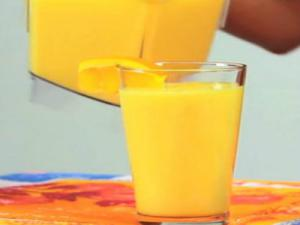 Sweetened Orange Juice