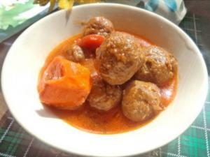 Fish Balls Stew -African Food