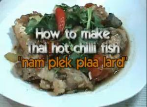 Thai Sweet And Sour Catfish