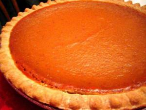 Heavenly Pumpkin Pie