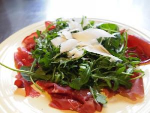 Bresaola Arugula and Parmigiano