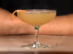 Milwaukee Bijou - A Twist on a Classic Orange Martini