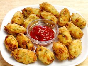 Potato Paneer Tots
