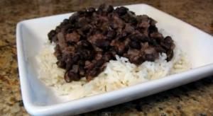 Caribbean Black Beans