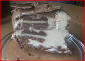 Epic Raw Meal Time - Chocolate and Banana Ice Cream Cake
