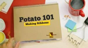 How to Make Potato Ribbons