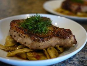 Pork Chops with Sage